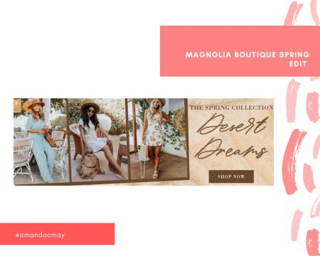 I'm linking my recent purchase from magnolia boutique!! This spring edit just launched today and I'm SO excited to try on my new clothes 🤩🤩   #LTKSeasonal #LTKstyletip #LTKunder100