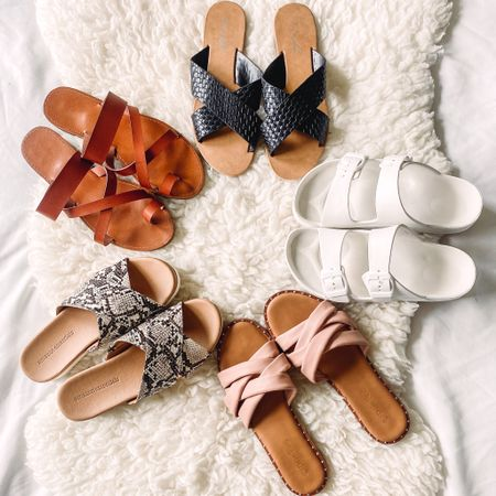 Super cute Amazon sandals for summer! All are affordable and on trend! http://liketk.it/3fvAy #liketkit @liketoknow.it