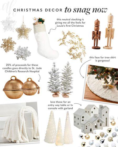 Christmas decorations to order now, Christmas home decor   #LTKSeasonal #LTKhome #LTKHoliday
