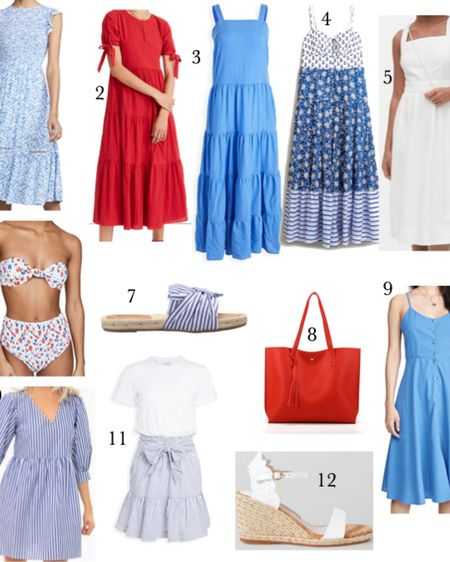 Red, white, and blue with Stars and Stripes all over 🇺🇸 4th of July looks for Mom ❤️ http://liketk.it/2QYHV #liketkit @liketoknow.it #LTKunder50 #LTKunder100 #LTKfamily @liketoknow.it.family