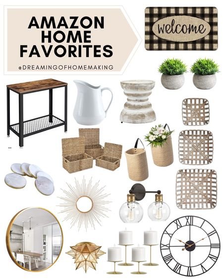 Amazon home favorites!!   Dreaming of Homemaking | #DreamingofHomemaking   #LTKunder50 #LTKhome #LTKunder100