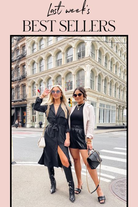 My trench coat is a returning top seller this week! It can be worn open or as a dress! Use code: HAUTE15 at checkout for 15% OFF! #giftsforher #trenchcoat #trenchdress #nycstyle #streetstyle #workwear #buisnesscasual #leathershorts  #LTKstyletip #LTKsalealert