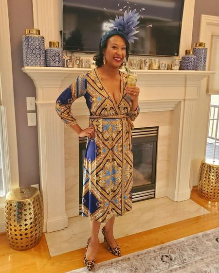 http://liketk.it/3b2EG Wrap dress. Perfect for many body types. #liketkit @liketoknow.it Shop my daily looks by following me on the LIKEtoKNOW.it shopping app #LTKSpringSale #LTKunder100 #LTKstyletip