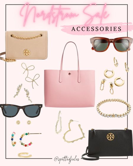 Nordstrom anniversary sale Nsale accessories Ray ban sunglasses Tory Burch crossbody Kendra Scott earrings Huggie hoops   #LTKsalealert #LTKitbag #LTKunder100 #liketkit @liketoknow.it http://liketk.it/3jVJM
