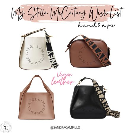 Loving these handbags and crossbody bags from Stella McCartney. They're beautiful inside and out. Best of all, they're vegan, cruelty free and sustainable!    #handbags #veganleather #sustainablebags #crossbodybag #stellamccartneycardholder #cardholder #wallets #luxuryfashion #luxebags #luxehandbags  #LTKtravel #LTKbeauty #LTKitbag