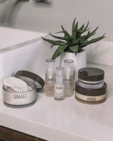 am on skincare  Linking my go to products below   #LTKbeauty #LTKunder100 #LTKunder50
