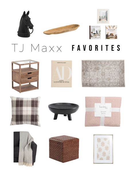 Tj maxx finds   Nightstand, quilt, shelf styling, home decor  #LTKunder50 #LTKhome #LTKunder100