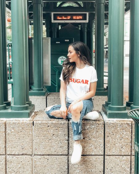 """The only thing that stopped me from making my caption """"walkin' in Memphis"""" was the fact that I'm sitting. ✌🏻 Follow me on the LIKEtoKNOW.it app to get the product details for this look and others @liketoknow.it http://liketk.it/2x7yD  #liketkit"""