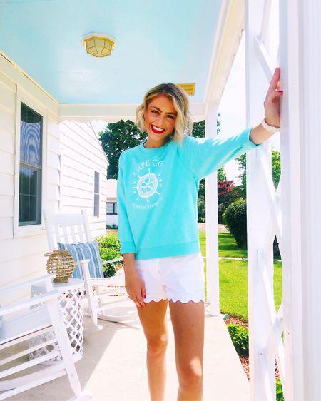 My Cape Cod sweatshirt is currently on sale! 💙 http://liketk.it/3hki9 #liketkit @liketoknow.it