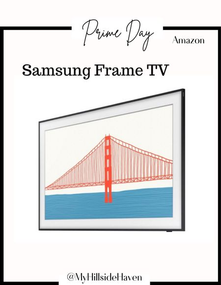 The popular frame tv is part of prime day! Amazon prime   #LTKhome #LTKsalealert #LTKstyletip