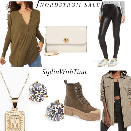 Nordstrom sale out ideas. My favorite picks. #shirt#spanxleggimgs#jacket #luggedboots#sneakerboot#earrings #necklace#nordstromsale http://liketk.it/3jGll #LTKsalealert #LTKstyletip #LTKunder100 #LTKunder50 #LTKitbag #LTKshoecrush #LTKworkwear #LTKtravel #LTKfit @liketoknow.it #liketkit #LTKfamily #LTKwedding #LTKbeauty