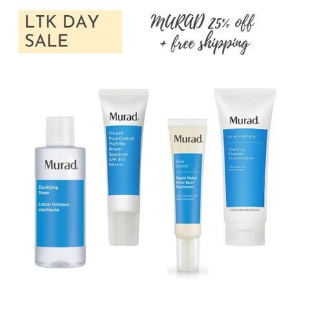 Murad is the skincare brand that set my skin on the path of clearing up and minimal breakouts.  http://liketk.it/3hqnf #liketkit @liketoknow.it #ltksale   #LTKbeauty