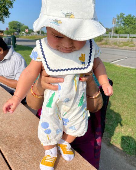 http://liketk.it/3jU2A #liketkit @liketoknow.it #LTKbaby #LTKfamily #LTKkids new born summer outfits, 0-6 baby boy clothes., summer hat for babies, baby sketcher socks,