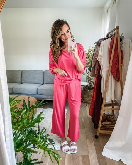 Comfy, swingy, cozy! Went up one size. Wayyy more hot pink/salmon in person than online.   http://liketk.it/3h8I2 #liketkit @liketoknow.it