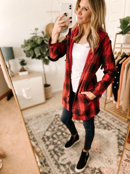 Flannel Button Hooded Jacket Color: Red/TTS/wearing a size S  #ifounditonamazon #amazonfashion #amazonfinds #outfitoftheday #ootd #outfitideas #outfitinspo #amazonjacket   http://liketk.it/3q4Rc @liketoknow.it #liketkit #LTKbeauty #LTKfit #LTKstyletip #LTKmens