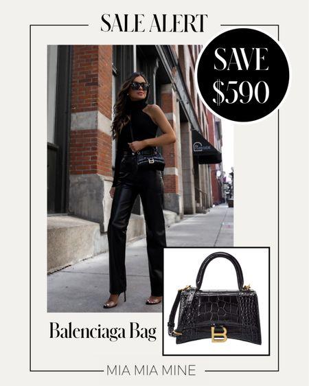 Balenciaga hourglass bag on sale now!  #LTKsalealert #LTKitbag #LTKstyletip