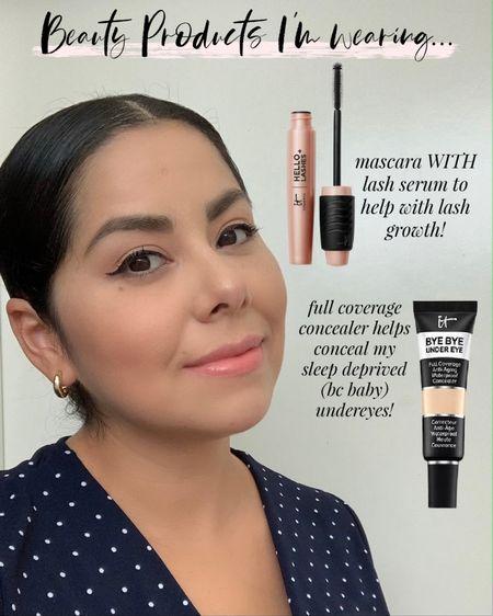 it cosmetics mascara, it cosmetics lash serum, it cosmetics bye bye under eye concealer, LTK early gifting sale  #LTKbeauty #LTKSale #LTKGiftGuide