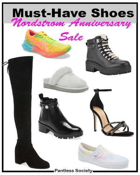 Nordstrom Anniversary Sale. Black boots. Black shoes. Shoe sale. NSale. Sale picks. Nordstrom sale picks. Must-have. Early acccess. Sneakers.   #LTKsalealert #LTKfit #LTKshoecrush