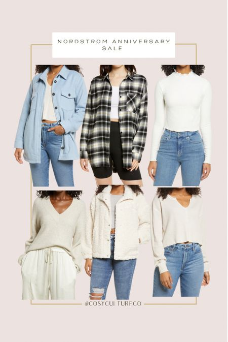 Comfy outfit pieces from the Nordstrom anniversary sale!   Stock up for fall with #Nsale   #LTKsalealert #LTKunder50 #LTKstyletip