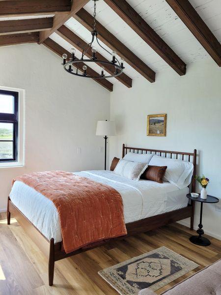 #liketkit http://liketk.it/3dAiF @liketoknow.it  #bedroom #bedding #floorlamp #art #masterbedroom #throwpillows #lighting