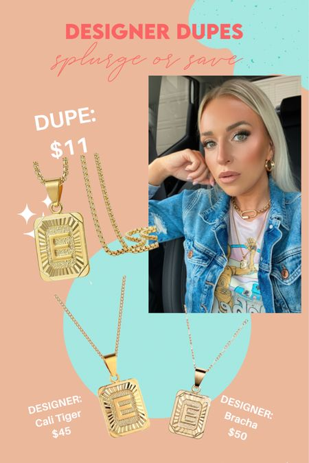 Two designer dupes for $9 and $11 versus $50! 😱 http://liketk.it/3evyv #liketkit @liketoknow.it