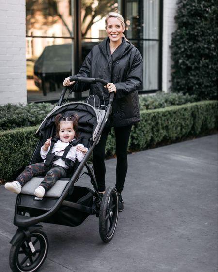 Thule jogging stroller / double stroller   #LTKfamily #LTKfit #LTKbump
