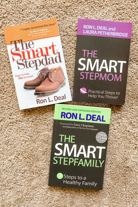 """Our next reading series! Have you read anything from Ron Deal? I loved his book with Gary Chapman """"Building Love Together in Blended Families"""" and have heard great things about the """"Smart"""" series for stepparents. I'll do a review in the newsletter when we are done! (Sign up on the blog if you haven't!) http://liketk.it/3hKqK #liketkit @liketoknow.it #book #books #family #blendedfamily #resource #stepfamily #library"""