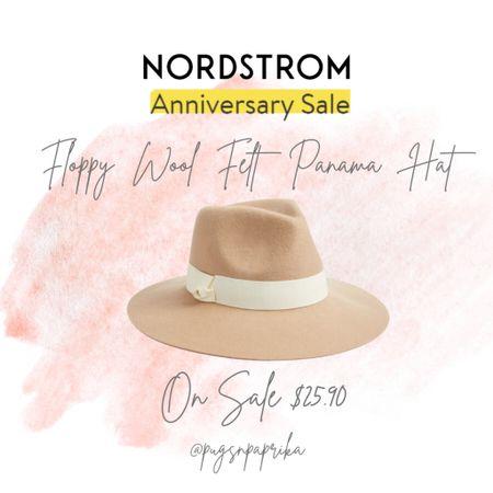 Nordstrom Anniversary Sale Panama hat! Fall hat, Fall outfit ideas @liketoknow.it #liketkit http://liketk.it/3jA7T