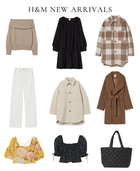 H&M new fall arrivals, fall outfit, shirt jacket, shacket
