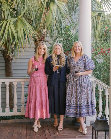 Holiday happy in Charleston with my gals! All of our holiday dresses are from Hampden here in Charleston! The best boutique out there! http://liketk.it/34gQG @liketoknow.it #liketkit #LTKstyletip #LTKNewYear