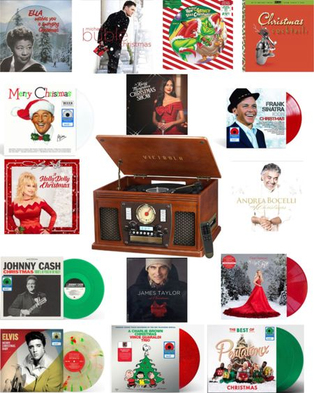 It's going to be a very vinyl Christmas!   #LTKhome #LTKGiftGuide #LTKfamily