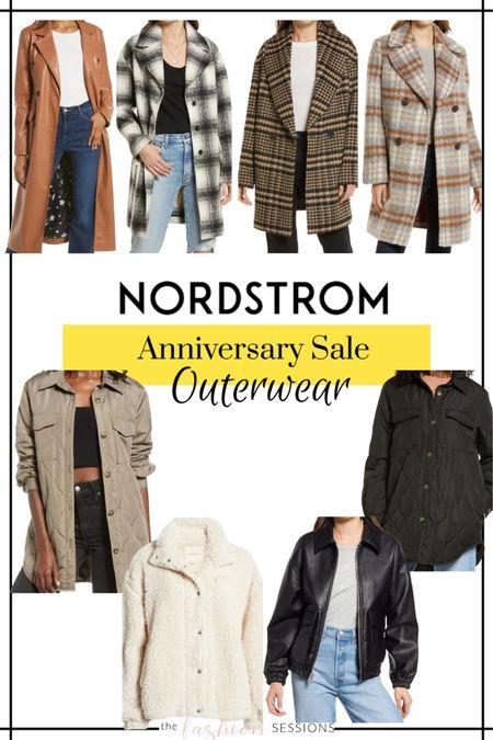 Nordstrom Anniversary Sale Picks!  Outerwear | coats | blazers | denim jacket | wool coat | trench | faux leather | coat shacket    Shop your screenshot of this pic with the LIKEtoKNOW.it shopping app http://liketk.it/3jsqz #liketkit @liketoknow.it #LTKsalealert #LTKunder100 #LTKstyletip