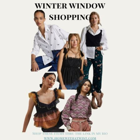 Window shopping for fall outfits, holiday clothes and festive inspiration    #LTKHoliday #LTKunder100 #LTKSeasonal