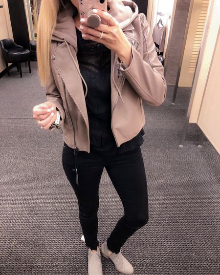 When you love something so much you get it in two colors right??? Well that's is just what I did with this gorgeous jacket!! I got this gorgeous mushroom color and the black with gold buttons!! It is so cute!! I am wearing a small!! See IG Stories to see fit!! http://liketk.it/2wwH1 #LTKunder100 #LTKstyletip #LTKshoecrush #LTKsalealert #LTKunder50  @liketoknow.it #liketkit
