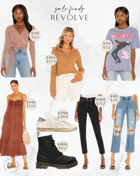 Revolve sale finds graphic tees agolde jeans on sale P448 sneakers dr martens boots @liketoknow.it #liketkit http://liketk.it/3quLZ