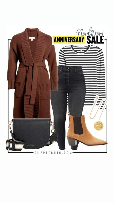 #PlusSize basics from the Nordstrom anniversary sale #Nsale this stripe everyday  crew neck is a must have for #LTKFall   #LTKunder50 #LTKcurves #LTKstyletip