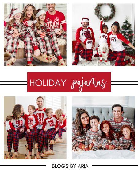 Holiday matching pajamas for the whole family!!   #LTKHoliday #LTKfamily #LTKsalealert