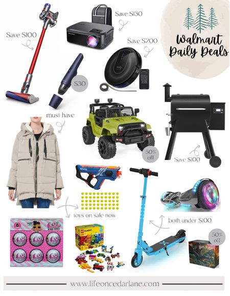 Walmart deals are here!! Snag some of these gift ideas now! Dyson, Traeger, kids toys and more!!   #LTKsalealert #LTKHoliday #LTKGiftGuide