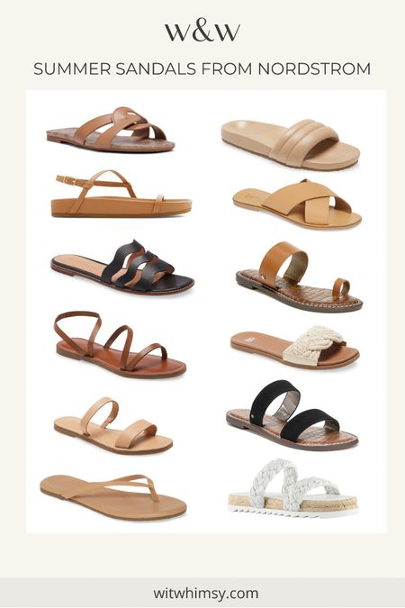Summer sandals from Nordstrom - all under $100. Affordable sandals @liketoknow.it http://liketk.it/3gWQB #liketkit #LTKunder100