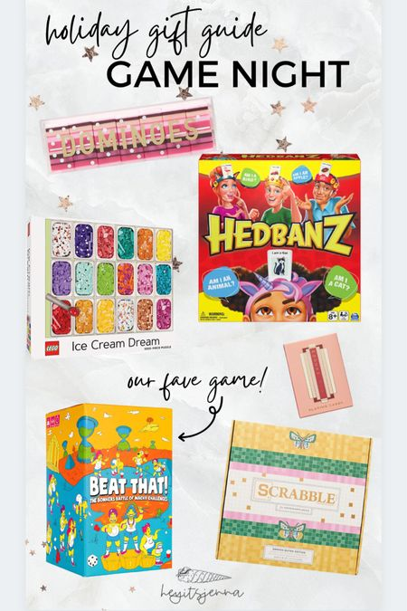 Family game night ideas for Christmas gifts  Holiday gift guide puzzles and board games  Scrabble    #LTKGiftGuide #LTKSeasonal #LTKHoliday