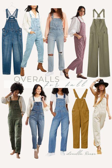 fall overalls, fall wardrobe essential   #LTKunder100 #LTKstyletip #LTKSeasonal