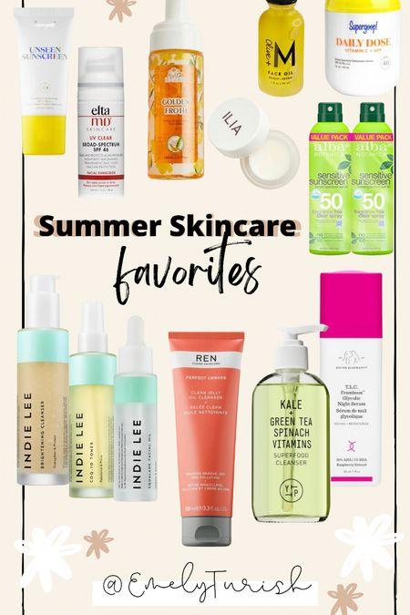 Summer skincare favorites   #LTKunder100 #LTKbeauty #LTKSeasonal