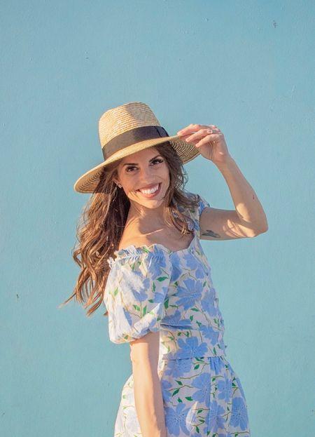Spring wear | spring dress | Spring Outfit | spring fashion | wide brim hat | Target Finds   #LTKwomens #LTKfashion #LTKstyle #targetfinds #spring #springshowhaul #springshoes #springfashion #springstyle #sandals #shoes #summersandals #neutralsandals  Shop my daily looks by following me on the LIKEtoKNOW.it shopping app.   #LTKunder50 #LTKSpringSale #LTKsalealert
