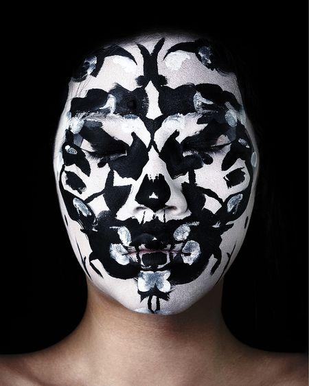 INKBLOT AVANT-GARDE MAKEUP  GET THE LOOK:  Snazaroo Face Paint (Black) CC Beauty 12 Flash Color Case (White) NYX Professional Makeup SFX Set Loose Setting Powder* NYX Professional Makeup Epic Ink Liner (Black)* Nichido Cosmetics Eye Pencil (Blackest Black)  *gifted Edited with Lightroom and Photoshop http://liketk.it/3frXM #liketkit @liketoknow.it #LTKbeauty