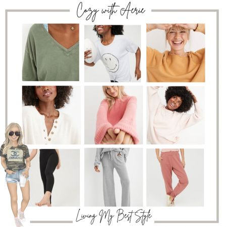 Get cozy this fall with some of my favorite finds from Aerie! 💛