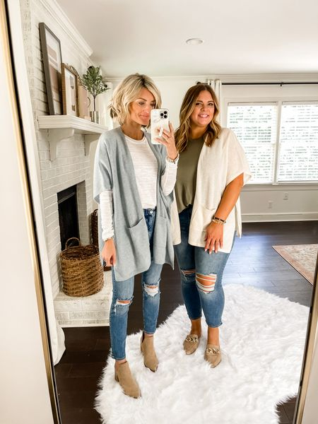 These open front cardigans are a must have for fall!   #LTKunder100 #LTKsalealert #LTKstyletip