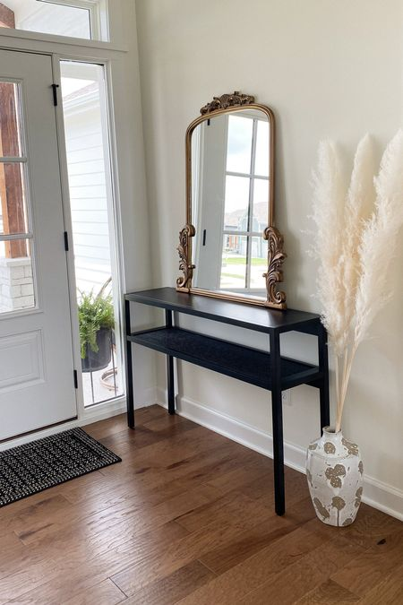 Can't wait to decorate our new entry way table!  | entryway | entryway table | entryway console | entryway decor | home decor | home design | affordable home decor | target home | kirklands mirror |   #LTKstyletip #LTKhome