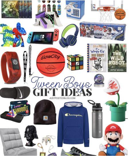 Tween Boy Gift Ideas!   Holiday Christmas  Gift Guide  #LTKGiftGuide #LTKSeasonal #LTKHoliday
