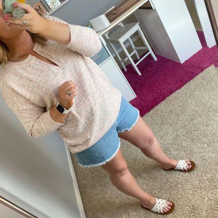 Add in a sweater for cool evenings http://liketk.it/3ck2r #liketkit @liketoknow.it #LTKcurves