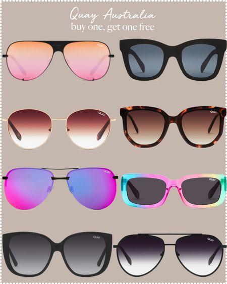 cute sunglasses - buy one, get one free  #LTKsalealert #LTKSeasonal #LTKswim